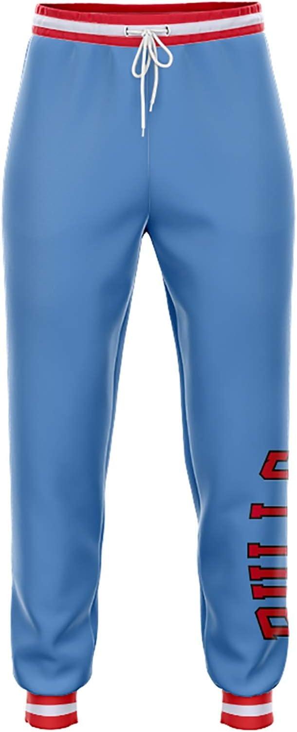 SXRC Chicago Bulls Unisexy Pantalons de surv/êtement Pantalons Casual Personnalit/é Respirant Pantalon des Pieds en Vrac Sportswear Pantalons