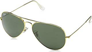 dimensions of ray ban aviators