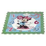 ColorBaby - Alfombra Puzzle goma EVA de MINNIE MOUSE - 9 piezas - 90x90 cm (48059)