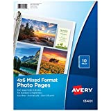 Avery Mixed Format Photo Pages, Acid Free, Pack of 10 (13401)