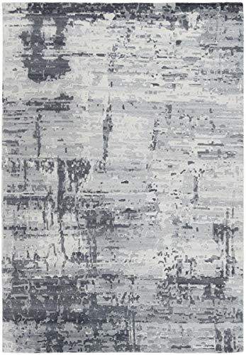 Nain Trading Mila 399x301 Orientteppich Teppich Beige/Hellblau Handgeknüpft Indien Design Teppich Modern