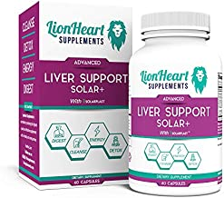 Liver Support Detox Cleanse & Repair Supplement - Doctor Formulated No Gallbladder Formula Includes Milk Thistle - Great Stone Breaker Capsule Helps Reduce Fatigue Health Supplements