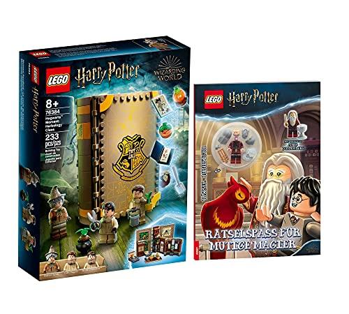 Collectix Lego Set di Harry Potter Hogwarts Mom, lezione del cliente delle erbe aromatiche 76384 + divertimento per maghi coraggiosi (copertina morbida)