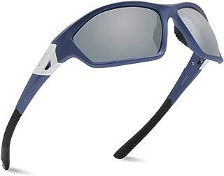 JOJEN Polarized Sports Sunglasses for Men Women Running Cycling Fishing Hunting Golf Tr90 Ultralight Unbreakable Frame TAC Lens JE008