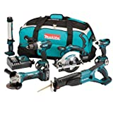Makita DLX6000M 18 V Li-ion LXT Cordless Kit with 3 x 4 Ah
