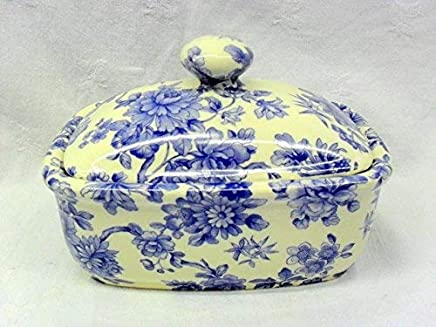 Butterdose Handarbeit imari-design in Blau preisvergleich bei geschirr-verleih.eu