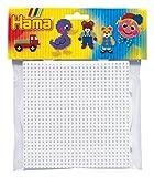 Hama - Set de plantillas grandes de forma redonda y cuadrada para cuentas de colores , color/modelo...