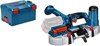 Bosch Professional 18 V System sladdlös bandsåg GCB 18V-63 (inkl. 1 x bandsågblad, utan batterier och laddare, i L-BOXX 238)