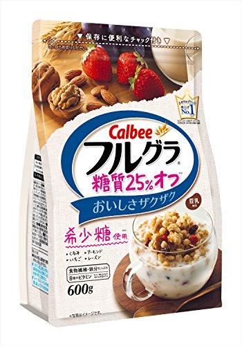 カルビー フルグラ糖質25% オフ 600g