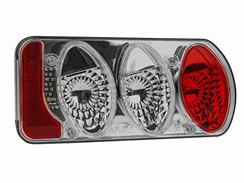 Eufab 11502 Achterlicht compleet, nieuwe versie van rookglas