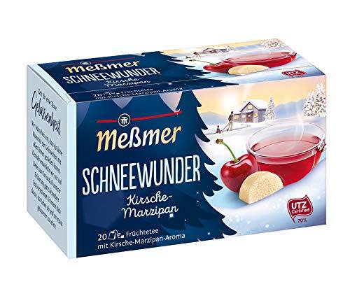 Messmer Snow Wonder Cherry Marzipan Tea Limited Edition