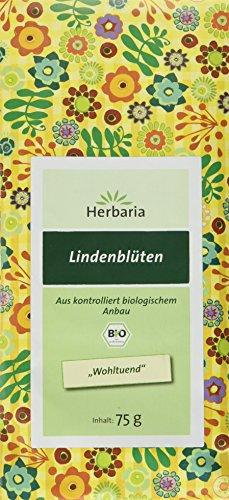 Herbaria Lindenblüten, 2er Pack (2 x 75 g) - Bio