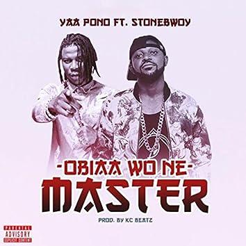 Obia Wone Master (feat. Stonebwoy)