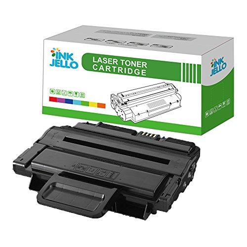 InkJello Compatible Toner Cartucho Reemplazo por Samsung ML-2855ND SCX-4824 SCX-4824FN SCX-4825FN SCX-4828 SCX-4828FN MLT-D2092 (Negro, Soltero-Pack)