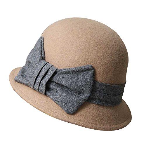 Blancho - Golf-Kappen für Mädchen in Kamel, Größe 54-58 CM