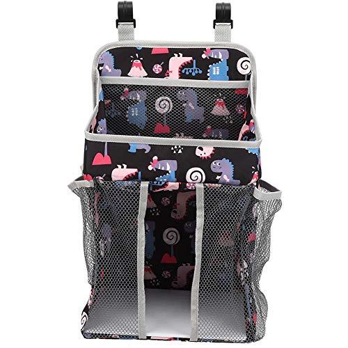 Bolsa de almacenamiento de pañales para bebés, cama de cuna para bebés,...