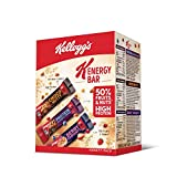 Kellogg's K-Energy Bar Variety Pack 230g (8 Bars – 3 x Protein Almonds & Berries, 3 x Choco Nutty, 2 x Berry Yoghurty) with The Power of Nuts, Fruits & Grains