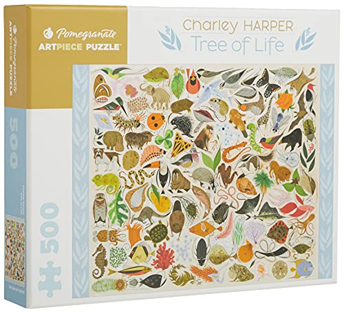 Charley Harper Tree of Life 500-Piece Jigsaw Puzzle (Pomegranate Artpiece Puzzle)
