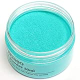 Turquoise Blue Mica Powder for Epoxy Resin 1.7 oz /50g Powdered Pigment for Soap Colorant Bath Bomb Dye, Cosmetic Grade for Lip Gloss, Acrylic Nails Polish, Craft Projects