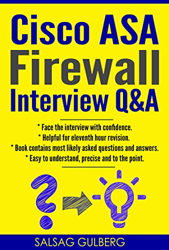 CISCO ASA Firewall Interview Q&A : Face Interview With Confidence (English Edition)