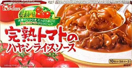 ハウス 完熟トマトのハヤシライスソース 184g
