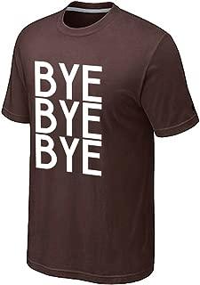 Vi-Fi Men's Bye Bye Bye Fashion Letter Print T-Shirt