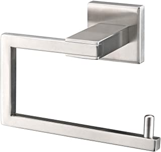 TNOMS SUS304 Stainless Steel Bathroom Toilet Paper Holder and Dispenser Wall Mount, Brushed Finish,GZQ6002BR