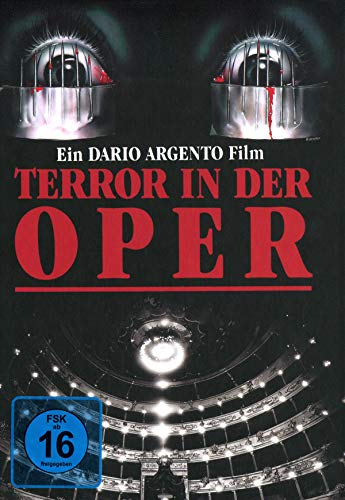 Dario Argentos Opera - 4-Disc Restored 30th Anniversery Edition limitiert auf 150 Stück - Mediabook, Cover C  (+ 2 DVDs) [Blu-ray]