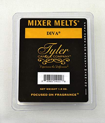 3 x Tyler Candles Mixer Melts - Diva
