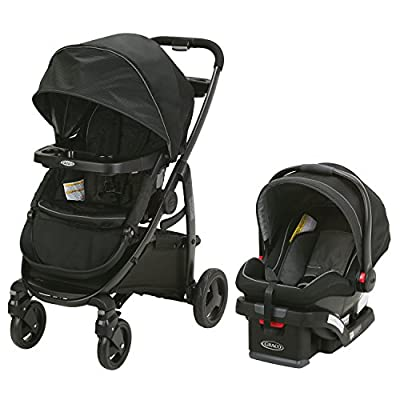 Graco Modes Travel System | Includes Modes Stroller and SnugRide SnugLock 35 Infant Car Seat, Dayton by Graco Baby