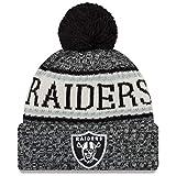 New Era Knitted Onfield Sport Beanie ~ Oakland Raiders