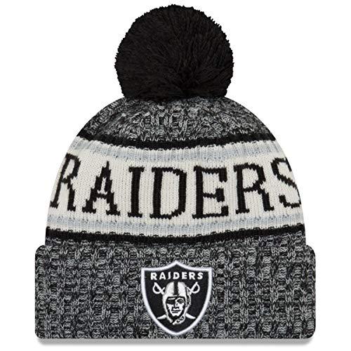 A NEW ERA Era Knitted Onfield Sport Beanie ~ Oakland Raiders
