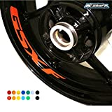 psler Motorcycle Wheel Rim Interior Decals Reflective Stickers For Suzuki GSXF