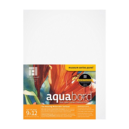 Ampersand Aquabord 9 in. x 12 in. each