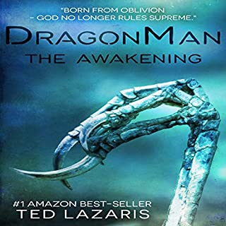 DragonMan: The Awakening audiobook cover art
