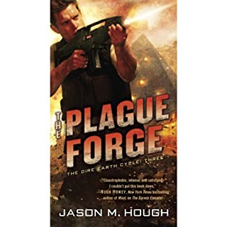 The Plague Forge audiobook cover art
