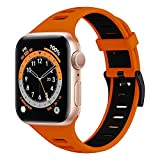 Supore Compatible con Apple Watch Correa 44mm 40mm 38mm 42mm,...