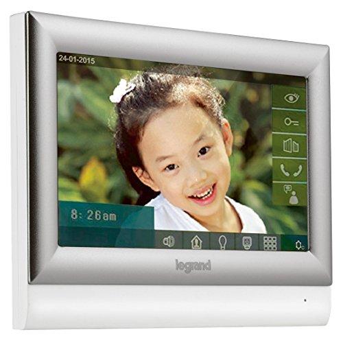 Legrand 369330 Videoportero táctil 7, 230 V, Plata, 10 pulgadas