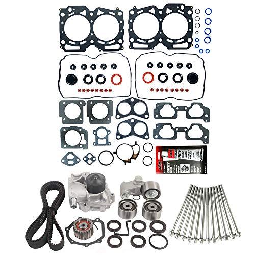 MOCA Timing Belt Kit & Head Gasket Set & Head bolts Compatible for 99-03 Impreza & 00-03 Subaru...