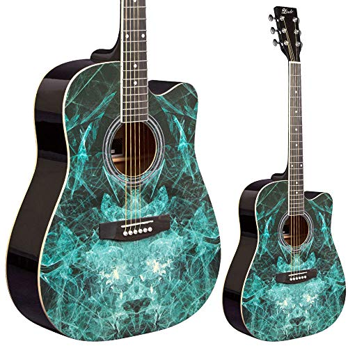 Lindo Fractal Apprentice Series 42C Akustikgitarre & Tasche