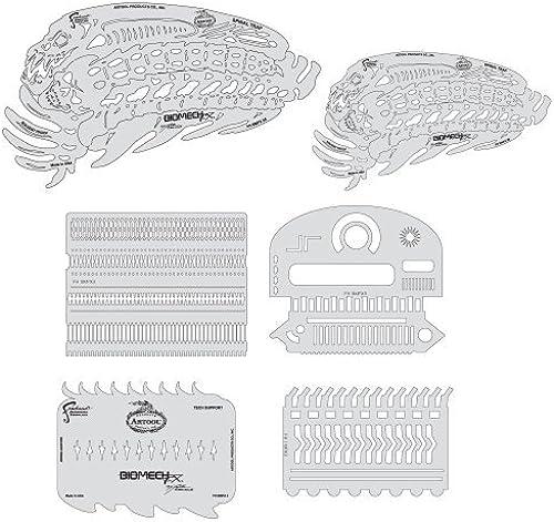 precioso Artool Freehand Airbrush Templates, Templates, Templates, Biomech Spinal Trap by Iwata-Medea  con 60% de descuento