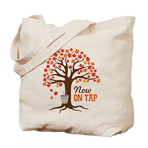 CafePress–maintenant on Tap Naturel–Sac en toile, tissu, Sac de courses