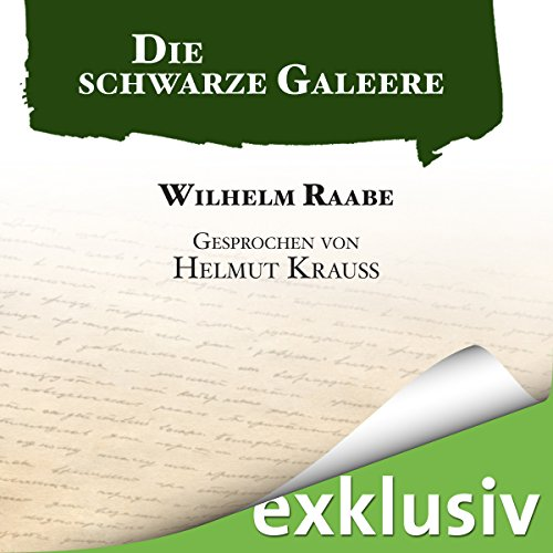 Die schwarze Galeere audiobook cover art