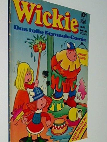 Wickie Nr. 10 Die Geburtstagsüberraschung, Das tolle Fernseh-Comic, Erstausgabe 1974 , Condor Comic-Heft