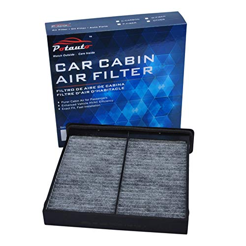 POTAUTO MAP 1036C Heavy Activated Carbon Car Cabin Air Filter Replacement compatible with SUBARU FORESTER IMPREZA WRX XV CROSSTREK