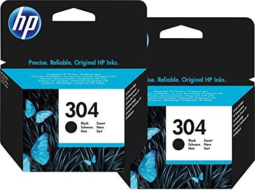 2 cartuchos de tinta negra Deskjet 3720 – tintas originales HP