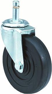 1 Wheel Width Polyurethane on Polyolefin Wheel 1//2-13 Stem Dia 1-1//2 Stem Height E.R 3-3//4 Mount Height 3 Wheel Dia Wagner Stem Caster 125 lbs Capacity Swivel Plain Bearing