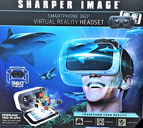 Purchase Smartphone 360 Degree Virtual Reality Headset - White