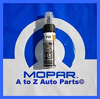 Dodge /Chrysler / Jeep BLACK Touch-Up Paint (PX8) 2250 Mopar OEM
