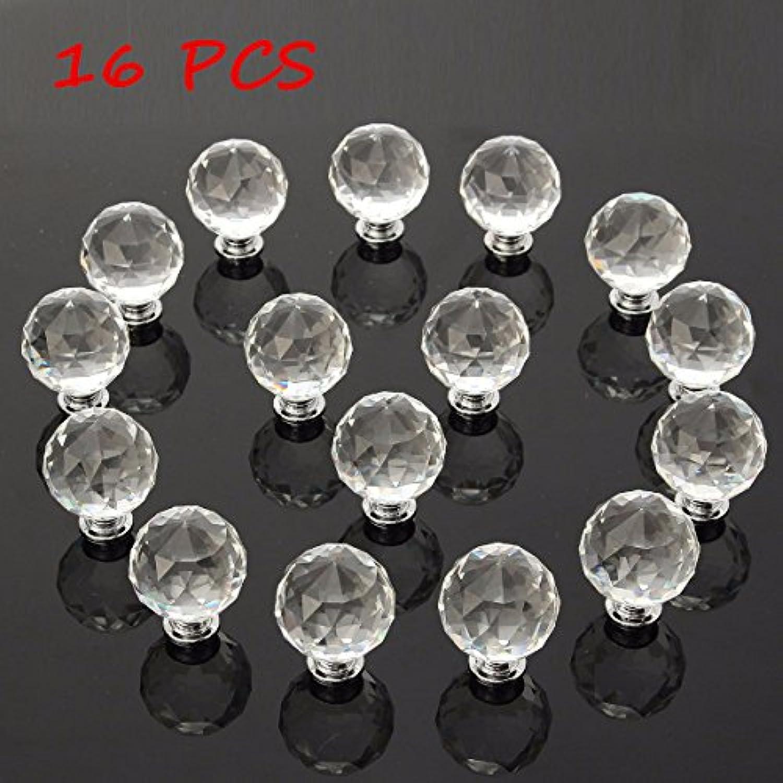 Wuchance 16 16 16 Stücke 40 MM Clear Crystal Glass Griff Knöpfe für Tür Schubladenschrank Möbel B07NPNQP23 | Stil  fc82dc